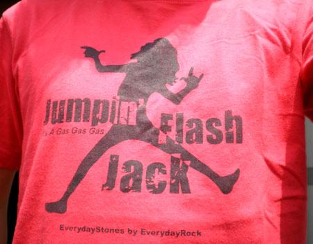 EverydayRock T Shirt Mick Jagger Caricature