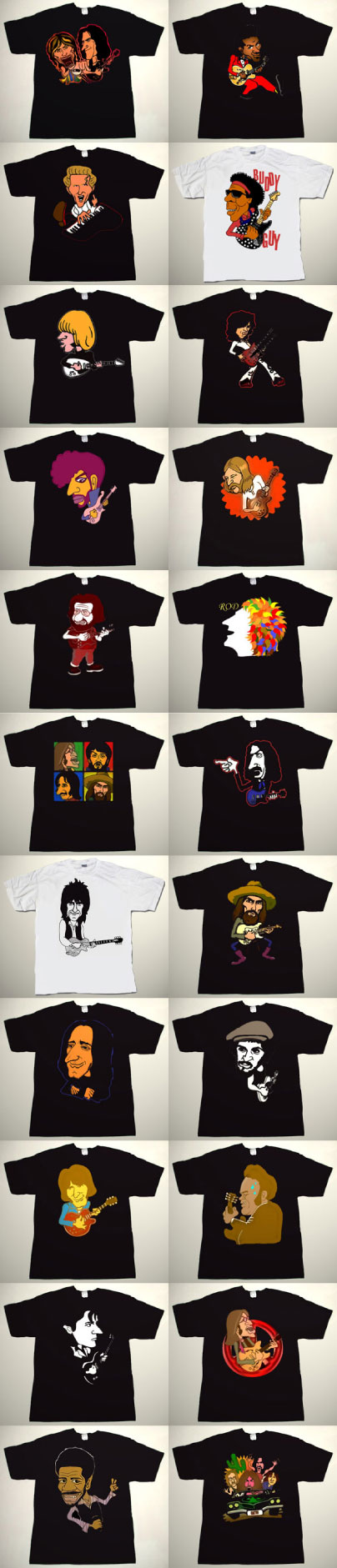 collectors ware pakuri t shirts