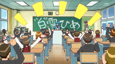 【ハピネスチャージプリキュア!】第04回「転校生はお姫様!!ひめの友達ゲット大作戦!!」