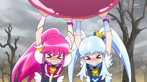 【ハピネスチャージプリキュア!】第08回「友情の危機!!ミスフォーチュンの不吉な予言!!」