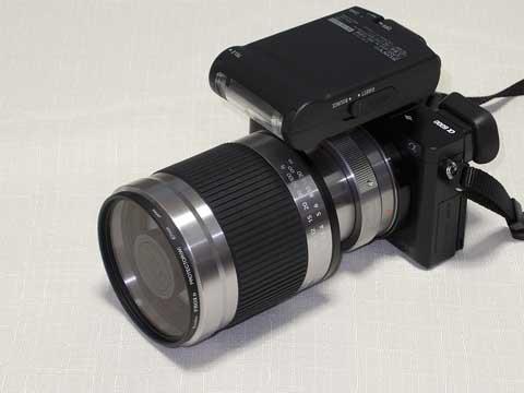 α6000 + Kenko ミラーレンズ 400mm F8