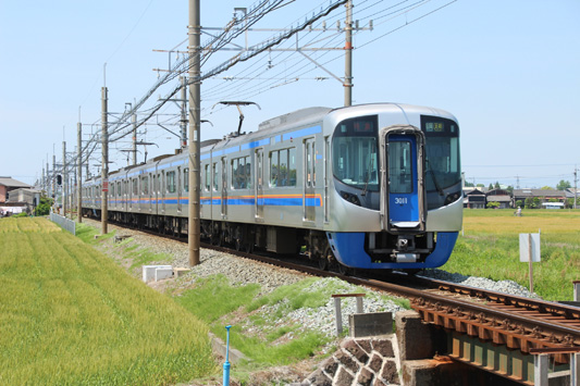 140503昼-西鉄3000系 (150)のコピー