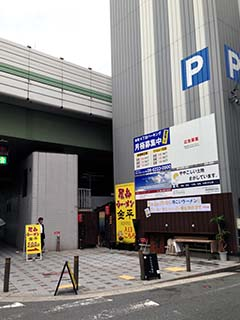0527駐車場