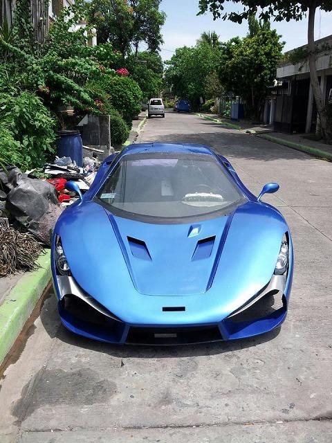 フィリピン初のスーパーカーアウ...