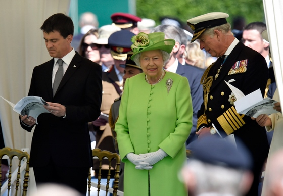 エリザベス2世 ノルマンディ上陸記念式典