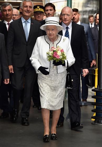 エリザベス2世 ノルマンディ上陸記念式典2