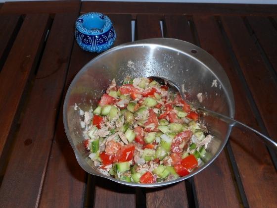 salade tunisienne/チュニジア・サラダ