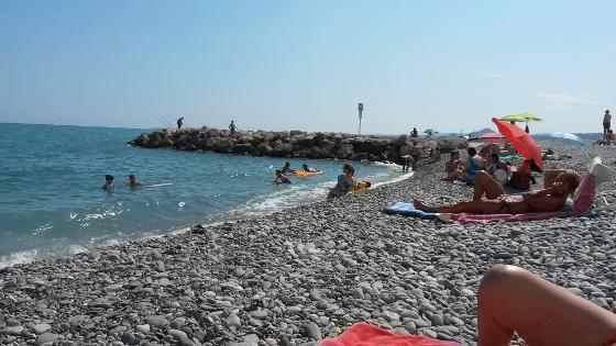 地中海の海岸