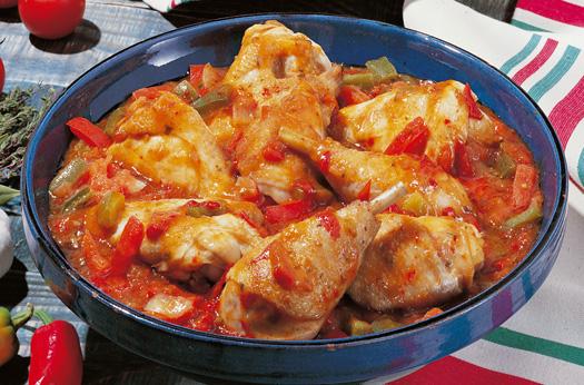 poulet basquaise/鶏のバスク風