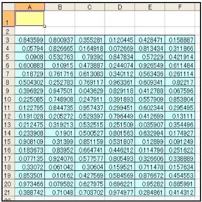 Excel 関数の入力10