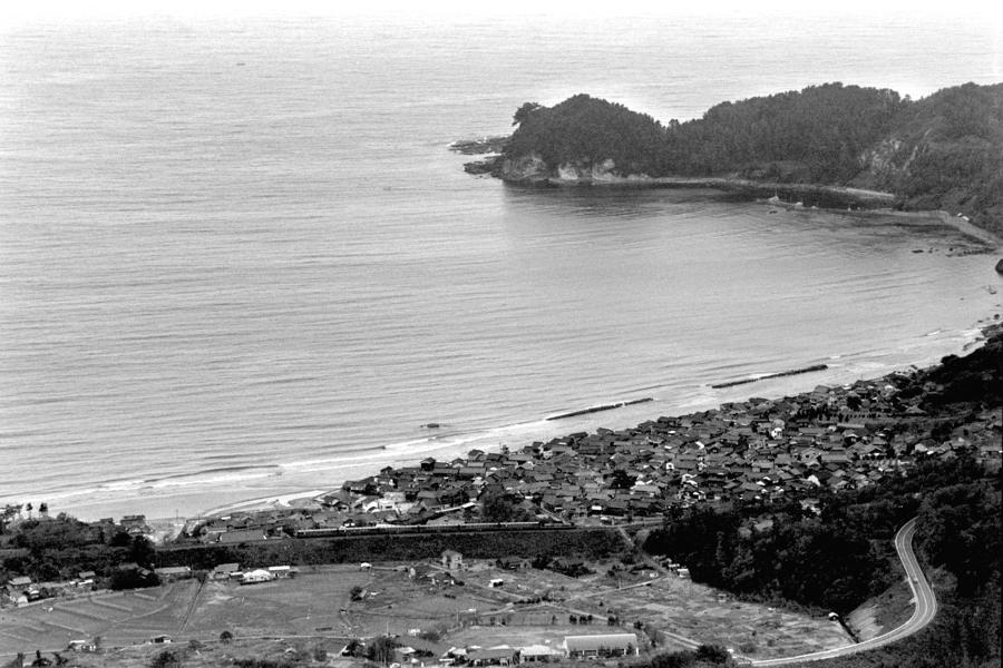 山陰本線 馬路俯瞰1 1983年11月 16bitAdobeRGB原版 take1b