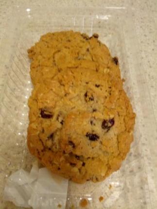 クッキー食べた後