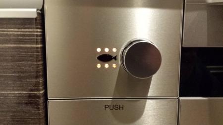 PD-900WV-60GVのグリルの操作ボタンのフラッシュなし写真