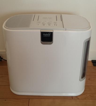 ダイニチ(DAINICHI) 加湿器 HD-9012-W [ホワイト]正面から