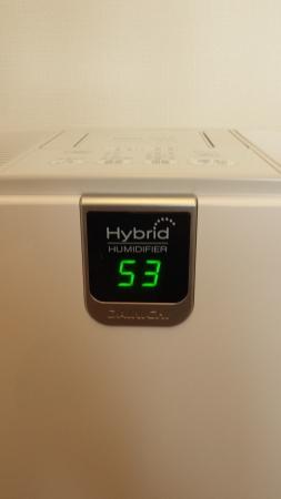 ハイブリッド式加湿器 HD-RX913DAINICHI 湿度計付きで便利