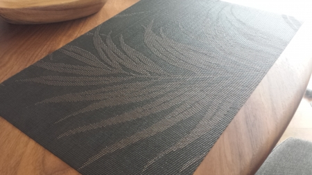 ベガテキスタイル フェニックス プレイスマット (BK) (33cm×47cm)