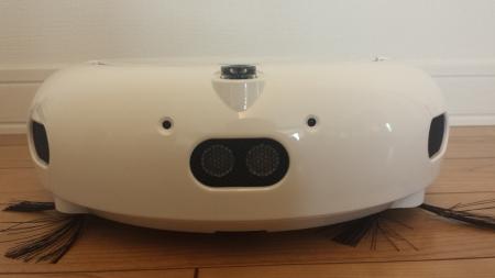 ココロボのロボット掃除機の顔が可愛い