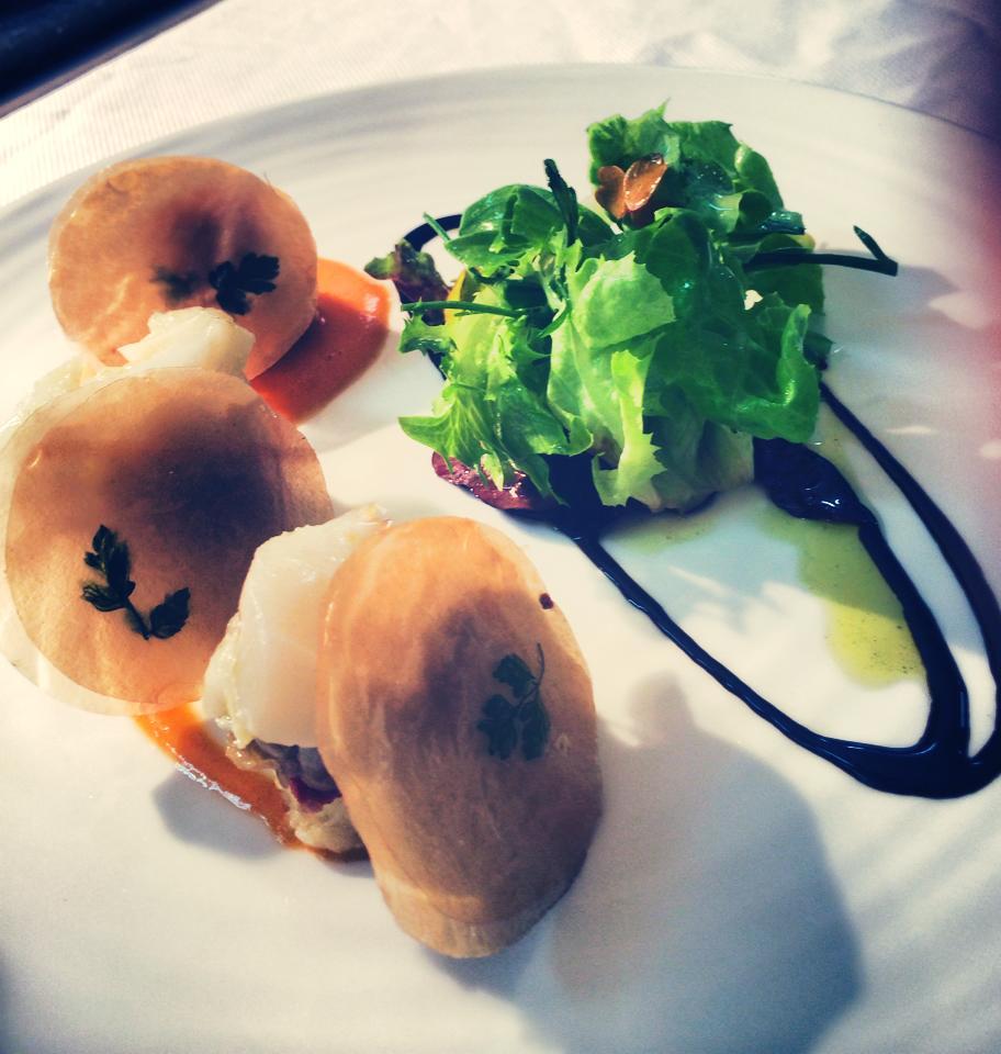 déjeuner Saint Jacques