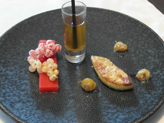 escaloppe de foie gras