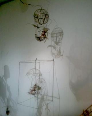 井村さんのカラクリン展示作品