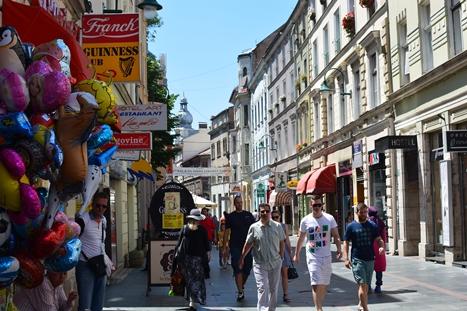 サラエボの西洋的新市街