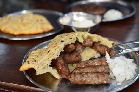 ボスニアの大衆飯、チェバブチチ