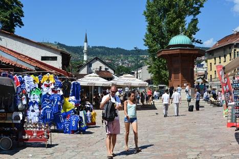 「水飲み場」と呼ばれる旧市街の中心
