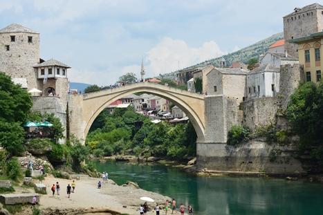 世界遺産の橋、スタリ・モスト