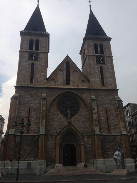 サラエボのカトリック教会