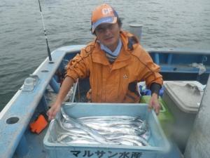 26・9・1太刀魚爆釣