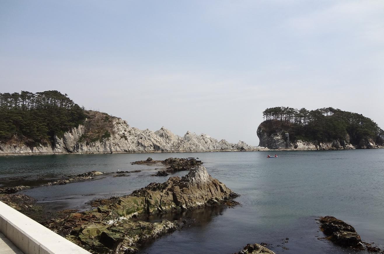 浄土ヶ浜全景