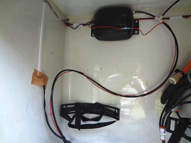 ガス室の配管