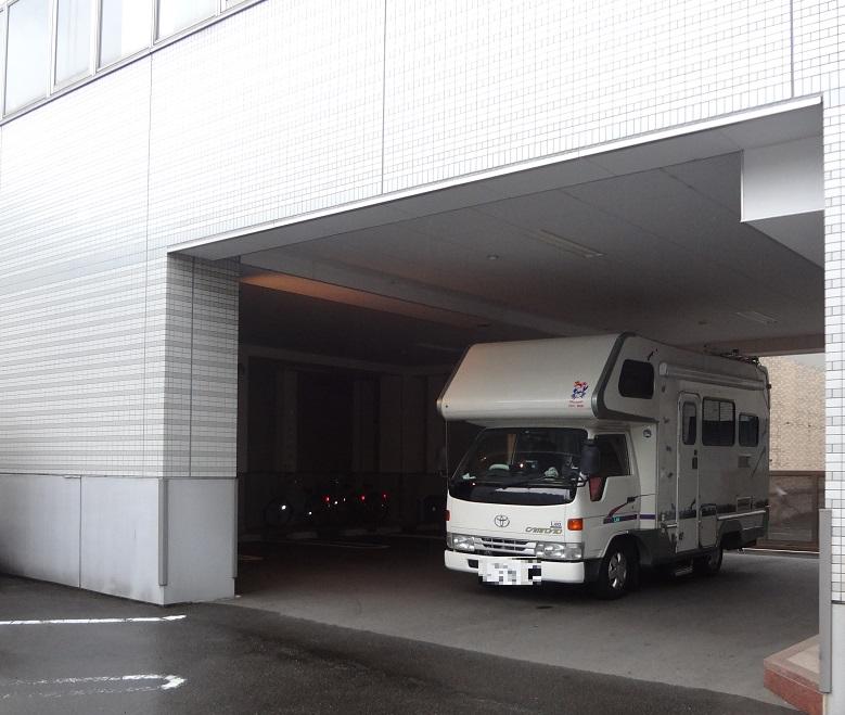 会社駐車場