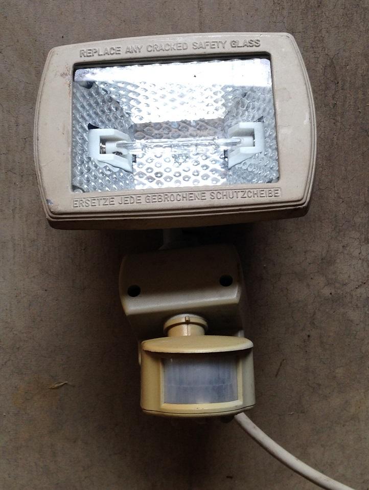 旧センサーライト