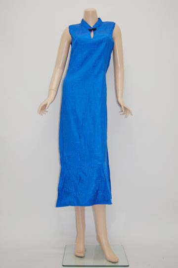 エスニックチャイナ ロングドレス