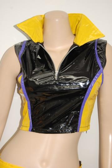胸元ファスナーレースクィーン ショートコスチューム