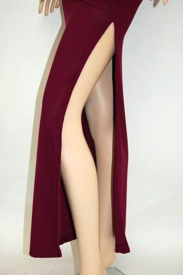 シンプルホルター☆ラインストーン ロングドレス