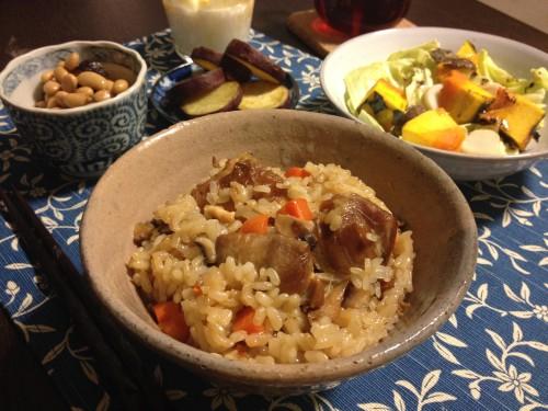 Feb18_鶏の炊込みご飯
