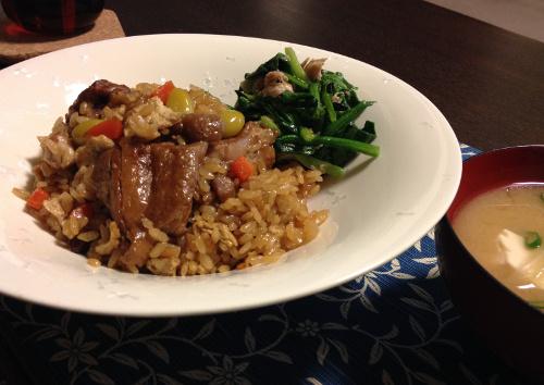 Mar07_鶏の炊込みご飯