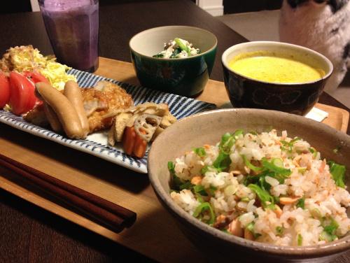 Apr21_鮭の混ぜご飯