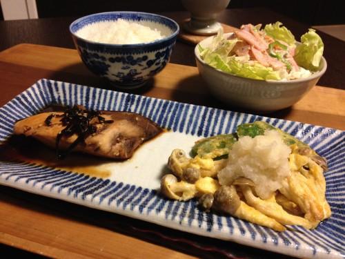 Jun18_ぶりの昆布煮