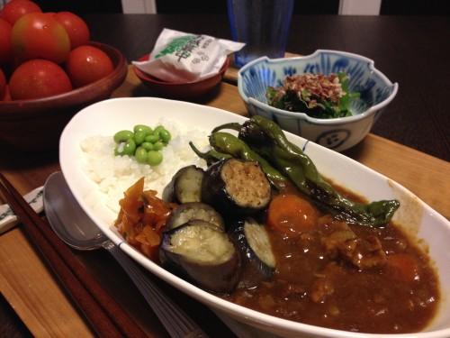 Jly15_夏野菜カレー
