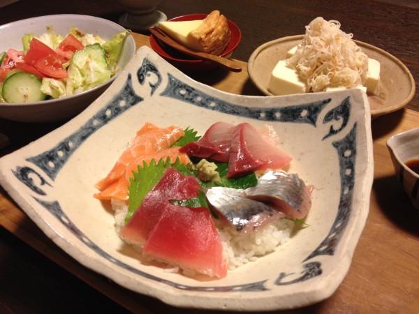 Jly17_お刺身丼