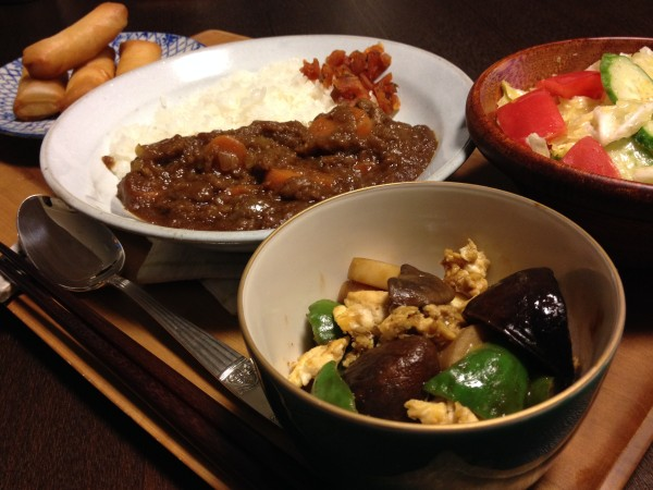 Jly18_夏野菜カレー