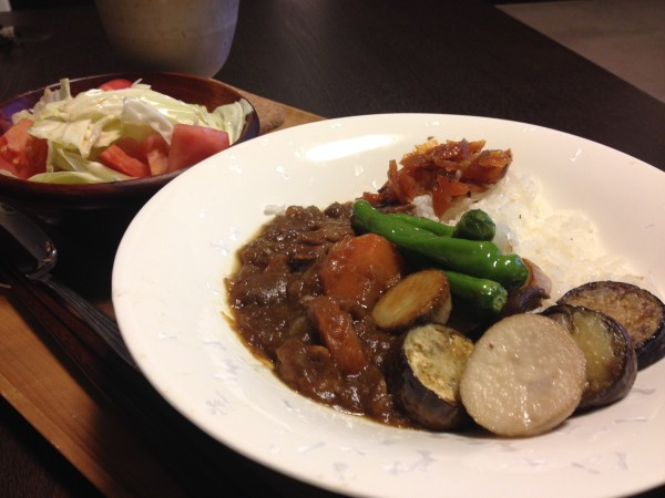 Jly22_夏野菜カレー