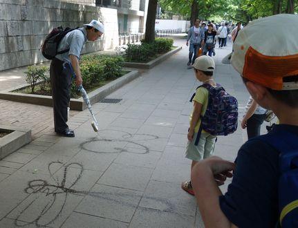 上野公園で見かけたおじさん