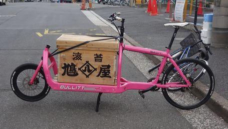 場外市場で見かけた自転車