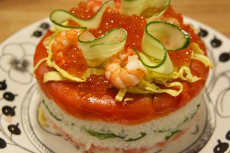 ひな寿司 ひな祭りケーキ