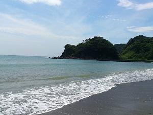 堂ヶ島海岸1加工