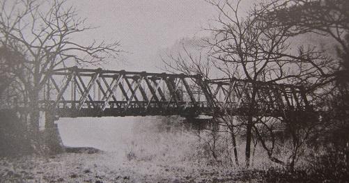 昔の母袋子橋